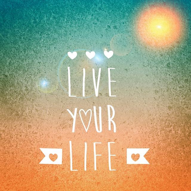 誰かの為じゃなくて自分の為に生きるんだよ。